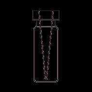 Insert Crimp Vial, Glass
